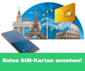 Beste Reise SIM Karten im Test